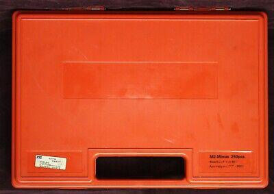 Ttc Pin Gage Set M2 Minus 250pcs Size 0.251 - 0.500