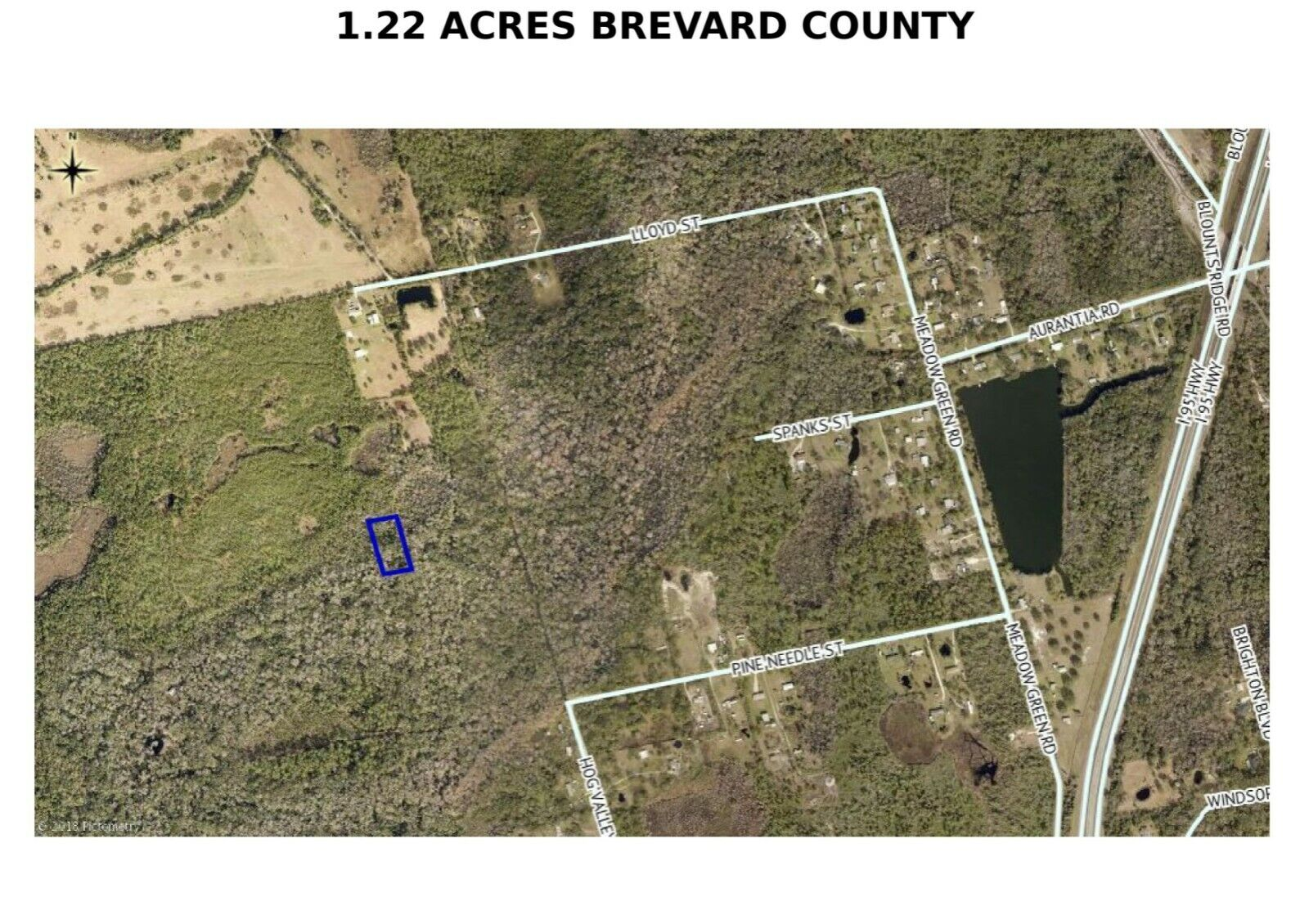 PRE-FORECLOSURE FLORIDA TAX LIEN CERTIFICATE FOR LAND 1.22 AC COCOA, FL BREVARD - $0.99