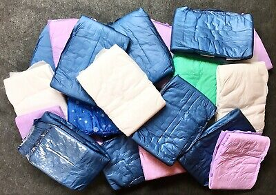26 Premium Plastic Backed Adult Diapers Pampers Nappies Medium Reusable Tapes