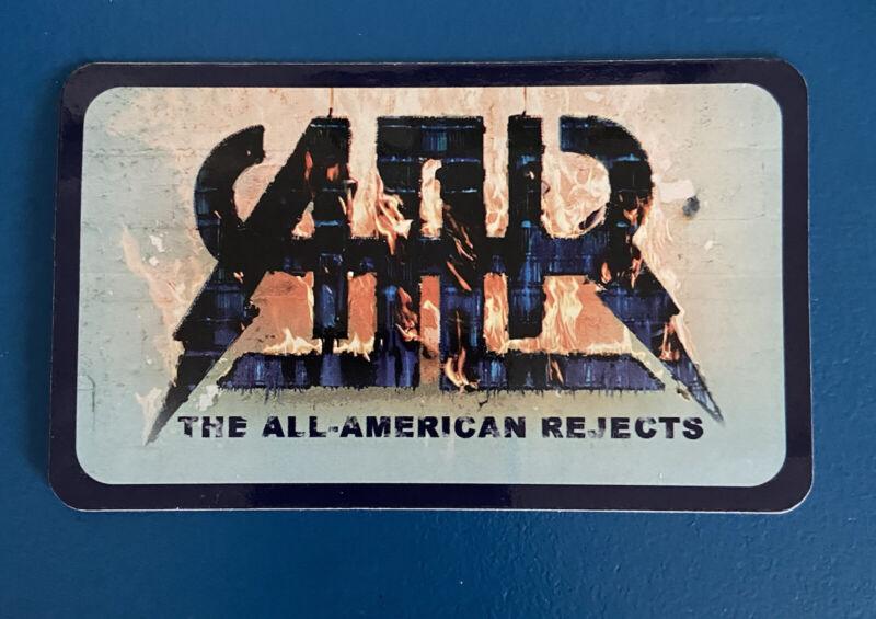 All-American Rejects When The World Comes Down Promo Sticker 2008 [RARE]