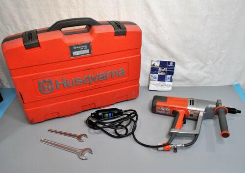 Husqvarna DM230 120V Electric HandHeld Core Drill w/ Case Concrete Brick 3 speed