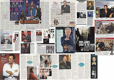 TOM JONES : CUTTINGS COLLECTION -interviews-