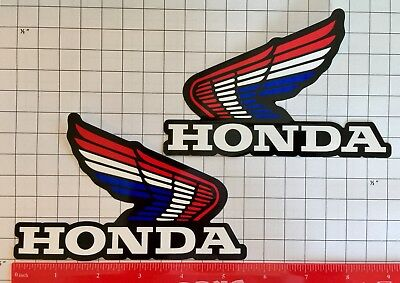 Honda Decal SILVER Sticker Motorcycle Motocross Jetski Waverunner cbr 600 1000