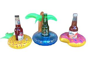 Floating Inflatable Drink Holder for Pool, Beach or Bath Carlton Kogarah Area Preview