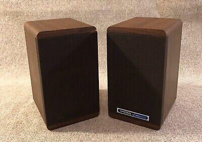 Vintage Pair Of Koss DynamiteM/60 Plus Bookshelf Speakers Koss