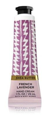 BATH & BODY WORKS FRENCH LAVENDER HAND CREAM LOTION SHEA BUTTER 1 OZ TRAVEL SIZE