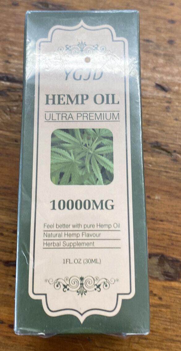 YGJD HEMP oil 10.000MG Omega 3,6,9 3