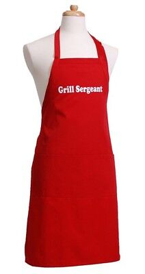 FREE PERSONALIZING  & FAST SHIP SOLID APRON - CHEF HAT & SETS novelty gift fun Chef Hat Apron Set Personalized