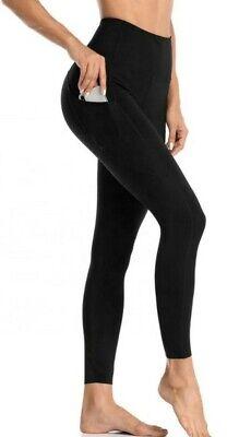 Zella Women high waist leggings black size small