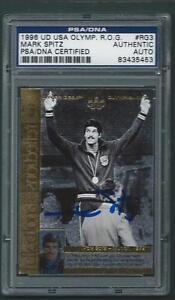 Mark-Spitz-signed-1996-Upper-Deck-Olympic-card-PSA-DNA-slabbed