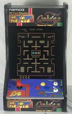 NEW Ms. PacMan/Galaga 20 Year Reunion Arcade 60 in 1 Donkey Kong 19 in Monitor