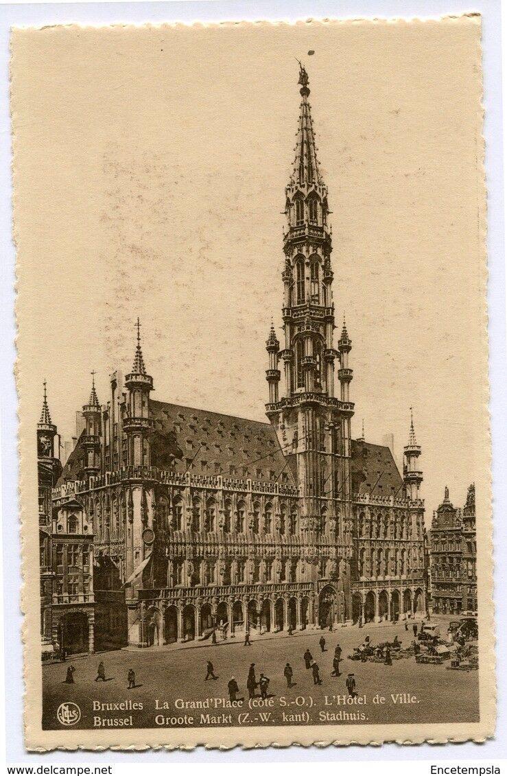 CPA-Carte postale-Belgique-Bruxelles -Grand place - Hôtel de Ville (CP2146)