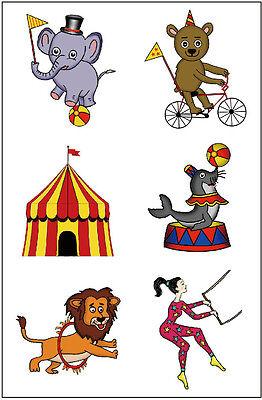 Premium Circus Tattoos, Carnival Party Favors, Under the Big Top (Big Top Tattoos)