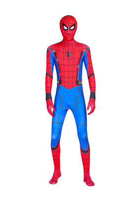 Hot 3D Print Spider-Man Homecoming Adult & Kids Zentai Costume Halloween Cosplay