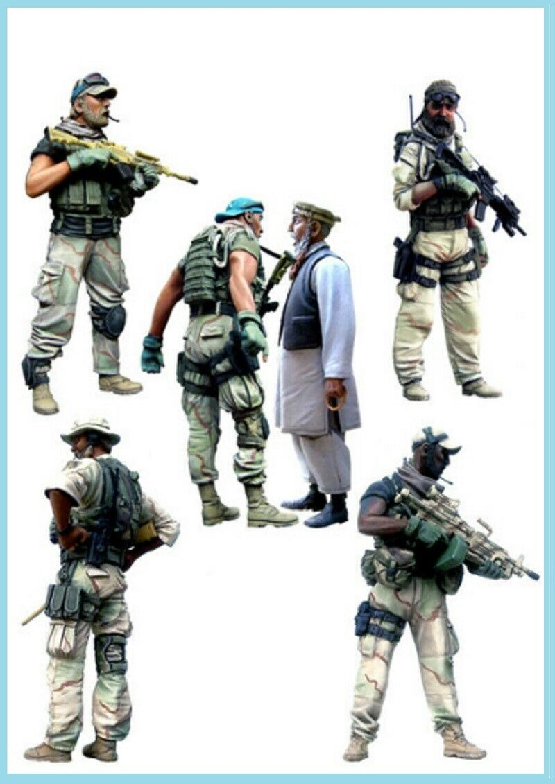 1:16 Resin Figure Model kit US Army Special Force Unassambled Afghanistan Soldat