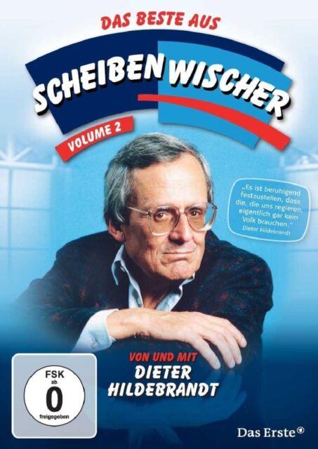 DIETER HILDEBRANDT - DAS BESTE AUS SCHEIBENWISCHER VOL.2 3 DVD NEU