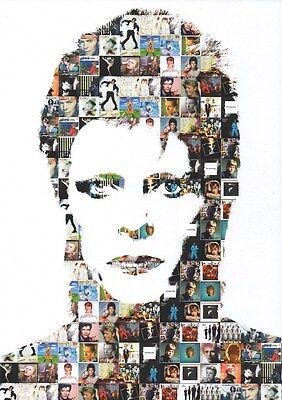David Bowie - Through Time - A4 Photo Print