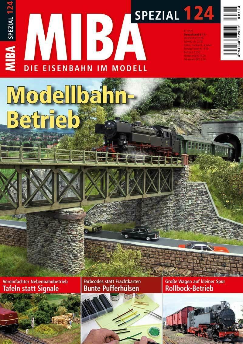 MIBA Spezial Heft 88 Vom Vorbild zum Modell Eisenbahn Gebäudebau Eigenbau