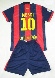 fe5ea44ba Messi Barcelona Kits
