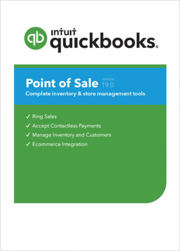 QuickBooks POS 19.0 Basic 20% off DIGITAL DOWNLOAD