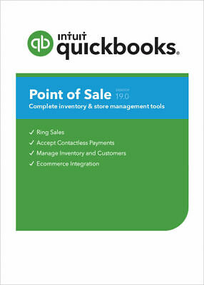 New Quickbooks Pos V19pro New Add User License