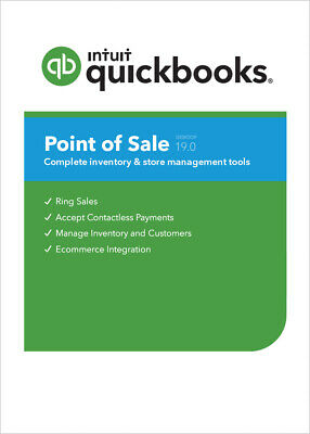 Quickbooks Pos 19.0 Pro - Add User 20 Off Digital Download