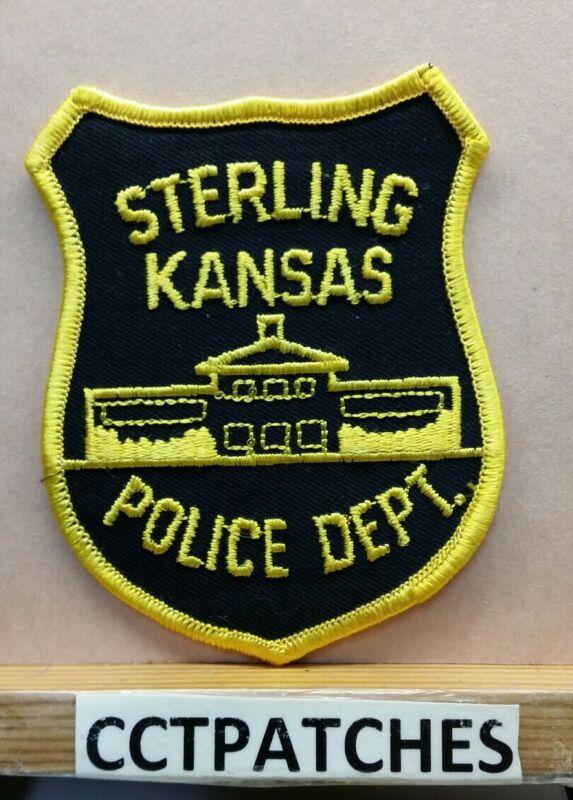 STERLING, KANSAS POLICE SHOULDER PATCH KS