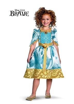 Disguise Girls Disney Pixars Classic Brave Merida Costume, Small - Teen Merida Costume