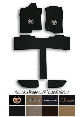 Cadillac Escalade ESV 5pc Velourtex Carpet Floor Mats - Choose Color & Logo