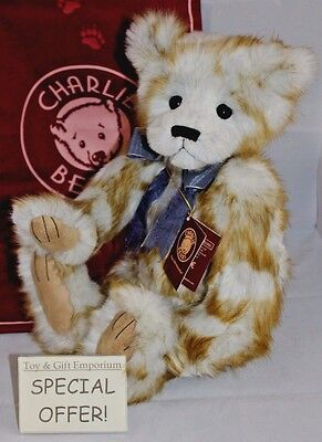 SPECIAL OFFER! Charlie Bears WATCHOVER - BRAND NEW STOCK!