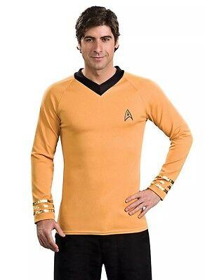 Star Trek Classic Deluxe Captain Kirk Uniform Shirt Size M