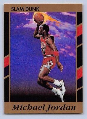 1991-92  MICHAEL JORDAN - SLAM DUNK BEST OF THE BEST Basketball Promo Card