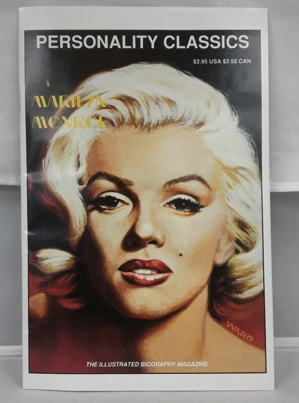 Personality Classics 2 cgc 9.8 Marilyn Monroe cover 1991 MINT Beatles back cover
