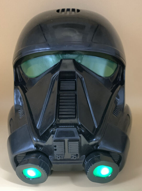 STAR WARS ROGUE ONE Official Imperial DEATH TROOPER Voice Changing Mask HELMET