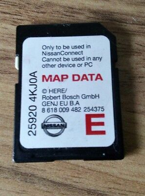 Nissan SatNav SD Card. 25920 4KJ0A. 25920 4KJOA. Connect LCN2 2016/17 for sale  Shipping to South Africa