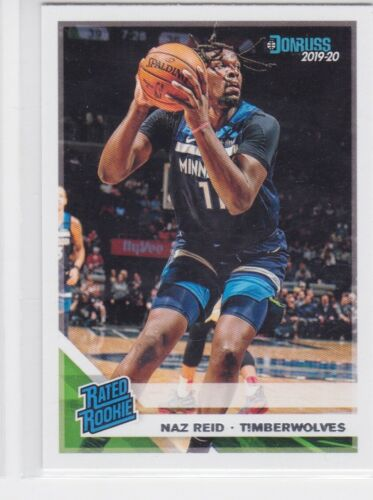 2019-20 PANINI CHRONICLES MINNESOTA TIMBERWOLVES NAZ REID DONRUSS RC NO. 198