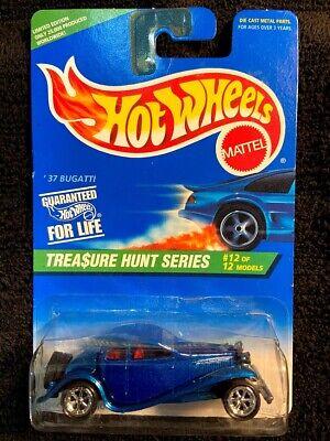 Hot Wheels Treasure Hunt 1996 '37 Bugati  #12