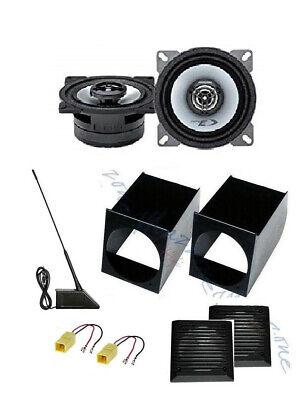 ALPINE Set 2 Arcas 10cm para Fiat Panda 1 ></noscript>2003 Con Soportes...