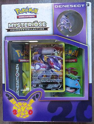 Pokemon Generationen Mysteriöse Pokemon Kollektion Genesect Box