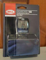 NEW Bell Dashboard 100 12-Function Bicycle Computer Dual Display Sealed NIP Bike