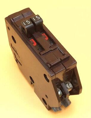 Circuit Breaker Wadsworth B1515 1515a Two 1 Pole Metal Tabs Twin Tandem