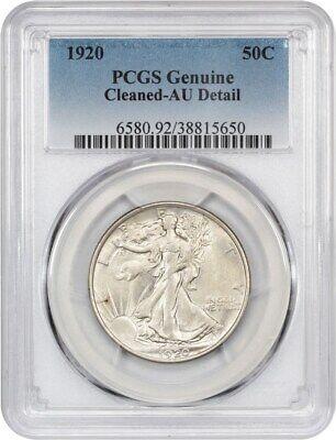 1920 50c PCGS AU Details (Cleaned) - Walking Liberty Half Dollar