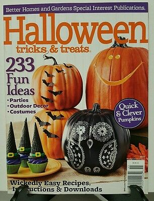 Better Homes Halloween Tricks Treats Fun Ideas Easy Recipe 2015 FREE SHIPPING JB - Easy Halloween Recipe
