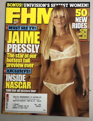 FHM Magazine October 2005 Jaime Pressly Sissi Dorismar Free Shipping