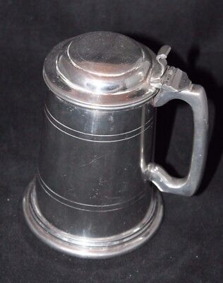 (Made in England Pewter Coffee Tea Pot Beverage Server )
