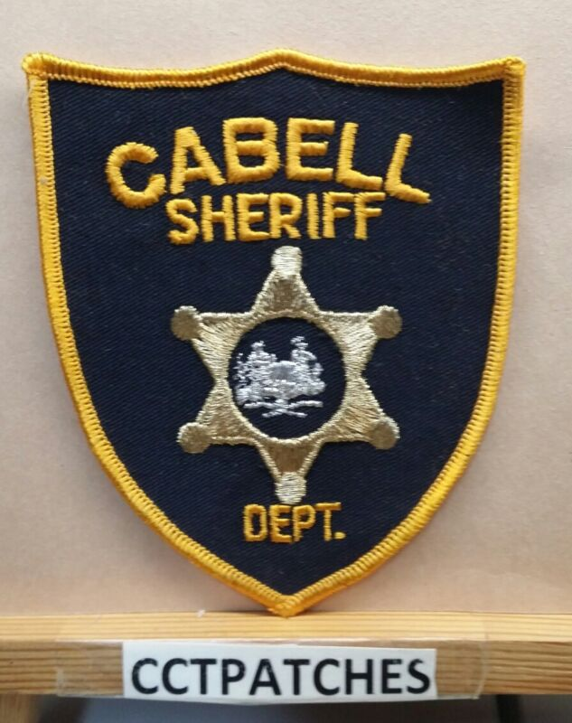 CABELL COUNTY, WEST VIRGINIA SHERIFF (POLICE) SHOULDER PATCH WV