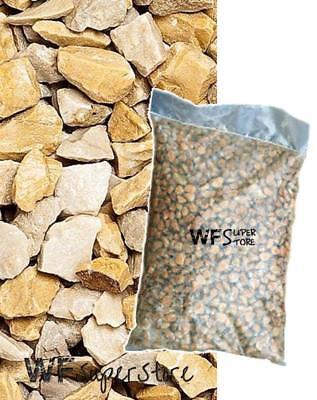 Graniglia marmo Giallo Mori 8/12 - sacco da 25 kg - sassi pietre giardino