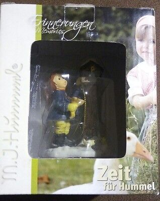 "Hummel Benevolent Bird Feeder Ornament 3.25"" Miniature German Figurine 935478"