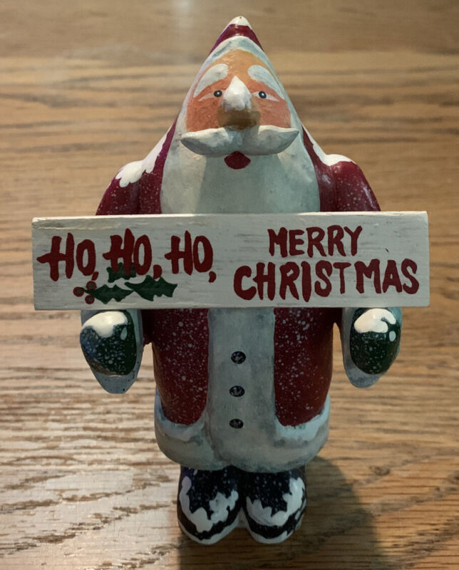 Santa Claus Christmas Figurine Midwest Of Cannon Falls
