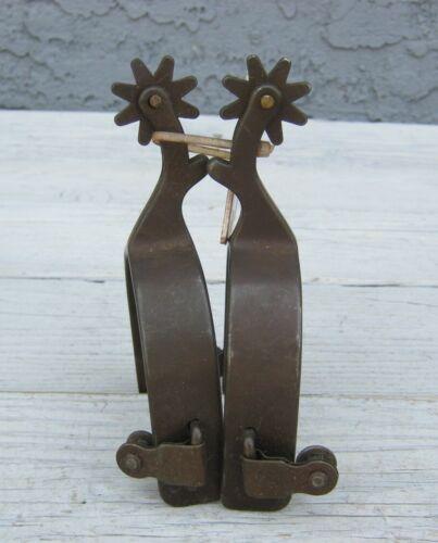 Weaver Leather Antique Brown Spurs 20942